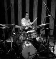 Steve Johns, drums